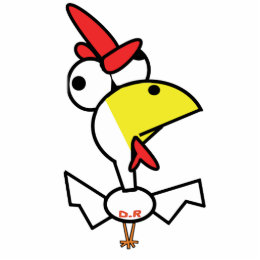Dirty Rooster Cutout