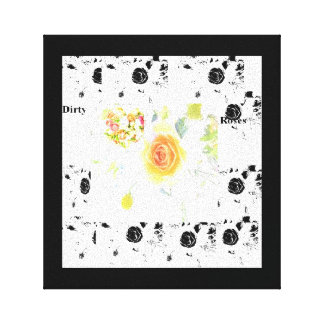 Dirty Roses Canvas Print