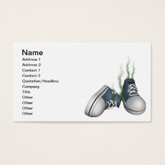 Dirty Sneakers Business Card