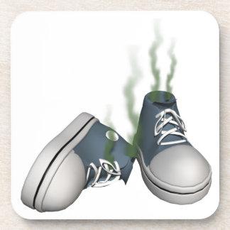 Dirty Sneakers Beverage Coaster