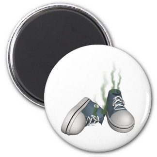 Dirty Sneakers 2 Inch Round Magnet