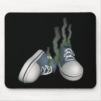 Dirty Sneakers Mouse Pad