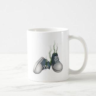 Dirty Sneakers Classic White Coffee Mug