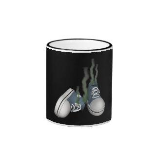 Dirty Sneakers Ringer Coffee Mug