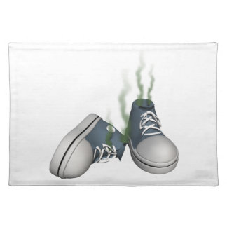 Dirty Sneakers Cloth Place Mat