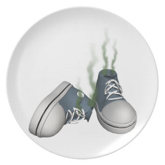Dirty Sneakers Party Plates