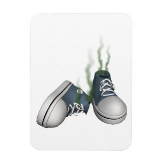 Dirty Sneakers Rectangular Photo Magnet