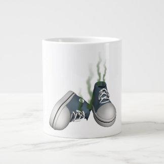 Dirty Sneakers 20 Oz Large Ceramic Coffee Mug