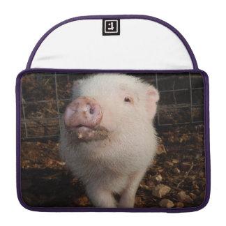 "Dirty Snout, Mini Pig Macbook Pro 13"" MacBook Pro Sleeve"