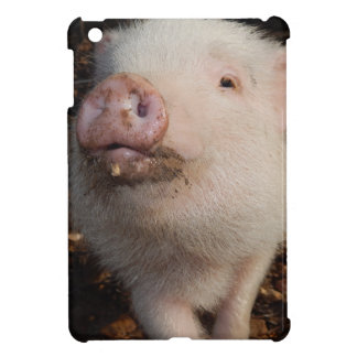 Dirty Snout, Pig Glossy iPad Mini Case