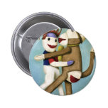 Dirty Socks Dancing The Tango 2 Inch Round Button