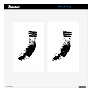 Dirty Socks Kindle Fire Skin