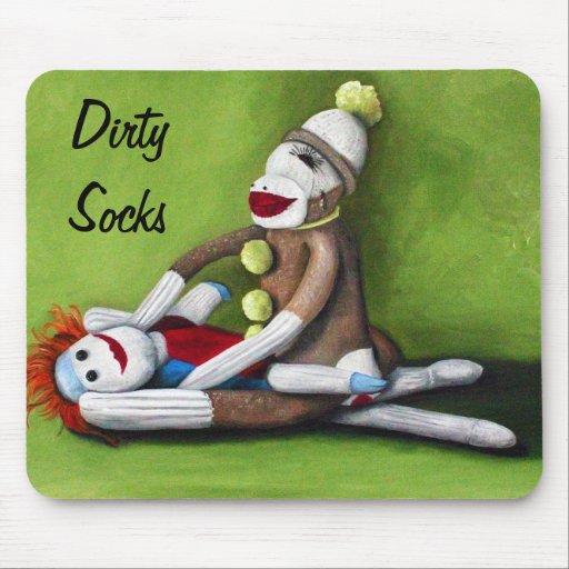 Dirty Socks Mouse Pad