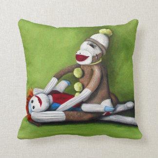 Dirty Socks Throw Pillow