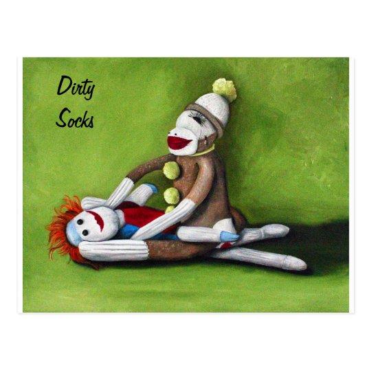 Dirty Socks Postcard