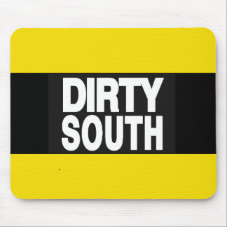 Dirty South 2 Yellow Mouse Pad