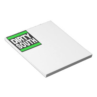 Dirty South Green Note Pads