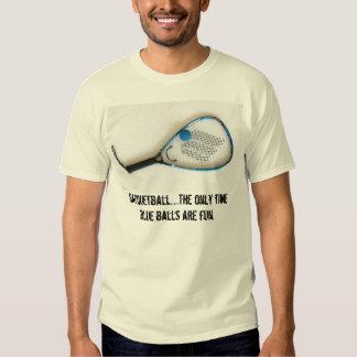 Dirty Sports...Racquetball Tee Shirt