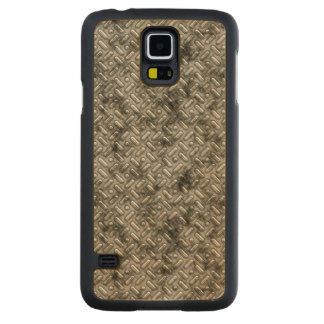 Dirty Steel Carved® Maple Galaxy S5 Case