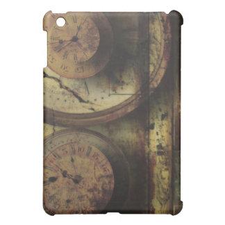 Dirty Timepiece Steampunk Clock Digital Collage iPad Mini Cases