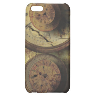 Dirty Timepiece Steampunk Clock Digital Collage iPhone 5C Cover