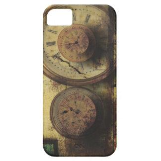 Dirty Timepiece Steampunk Clock Digital Collage iPhone SE/5/5s Case