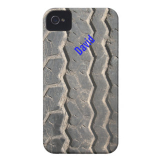 Dirty Tire Tread Custom iPhone 4 Case