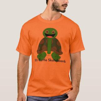 Dirty Turtle Logo, Orange T-Shirt
