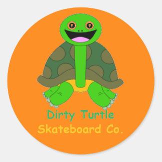 Dirty Turtle Sticker