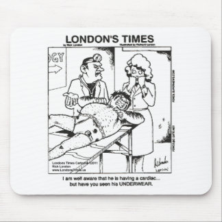 Dirty Underwear & Hospitals Funny Gifts & Tees Mouse Pad