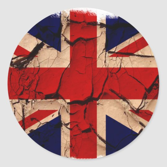 Dirty Vintage UK Classic Round Sticker
