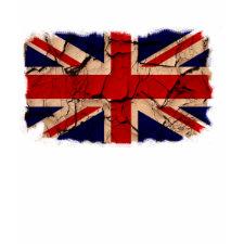 Dirty Vintage UK Flag shirt