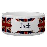 Dirty Vintage UK Personalized Dog Food Bowl