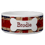 Dirty Vintage UK Personalized Pet Food Bowls