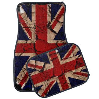 Dirty Vintage UK Union Jack British Flag Floor Mat