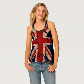 Dirty Vintage UK Union Jack Tank Top