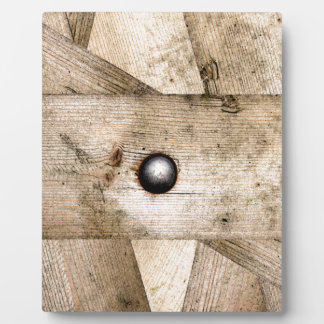Dirty wooden planks plaque
