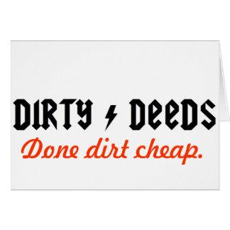 dirtydeeds card