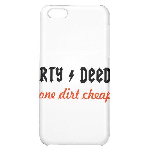 dirtydeeds case for iPhone 5C