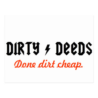 dirtydeeds postcard
