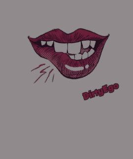 DirtyEgo Lip Bite T Shirt