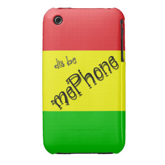 dis be mePhone iPhone 3 Cover