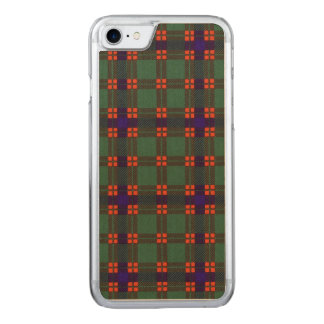 Dis clan Plaid Scottish kilt tartan Carved iPhone 7 Case