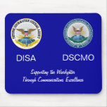 DISA_DSCMO Joint Mousepad on blue