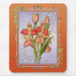 Disa Grandiflora Orchid Mouse Pad