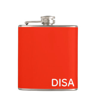 Disa Red color name Flask