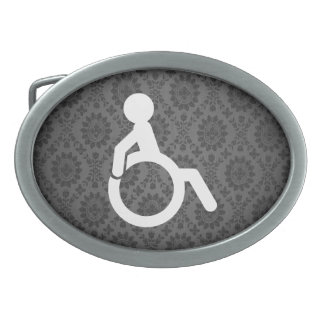Disabilities Minimal Oval Belt Buckles