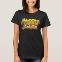 Disabilities World Down Syndrome Day T Shirt Women