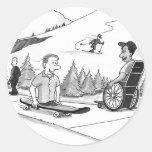 Disability Ability Classic Round Sticker