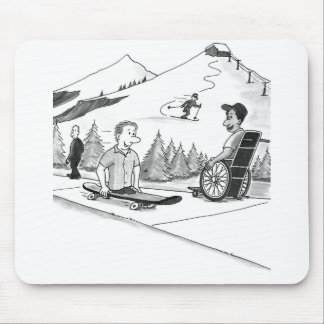 Disability Ability Mouse Pad